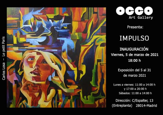 Flyer OCCO Art Gallery Mar