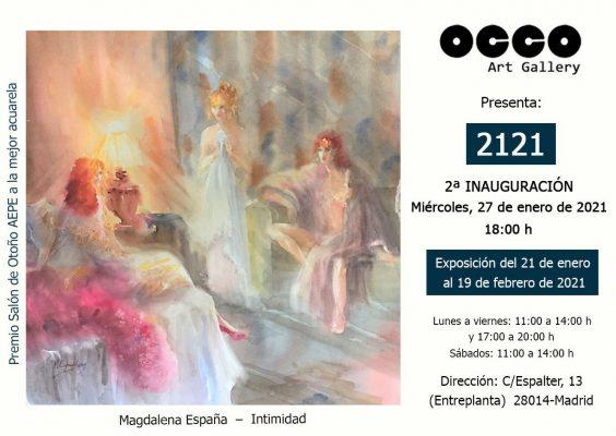 Flyer OCCO ART Gallery Feb