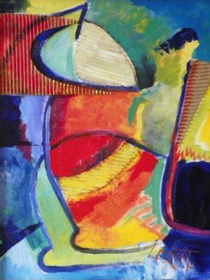 Laurent-Pascal-artiste-peintre-1998 Le chien