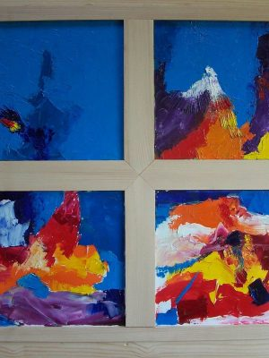 Laurent-Pascal-artiste-peintre-1999 V Dialogue