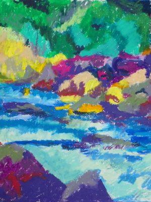 Laurent-Pascal-artiste-peintre-2000 La vallée de la Névache