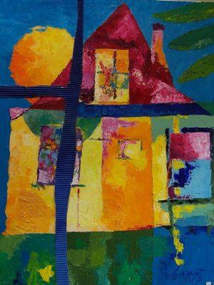 Laurent-Pascal-artiste-peintre-2003 La maison