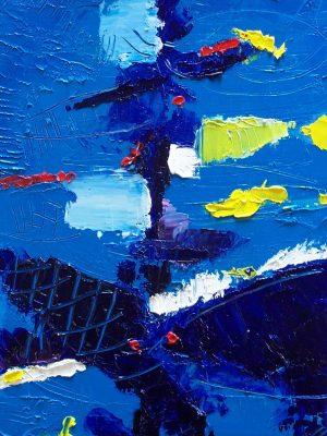 Laurent-Pascal-artiste-peintre-2003 V l'aquarium