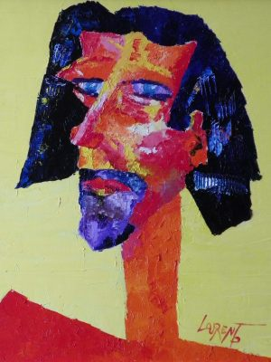Laurent-Pascal-artiste-peintre-2007 Autoportrait 2007