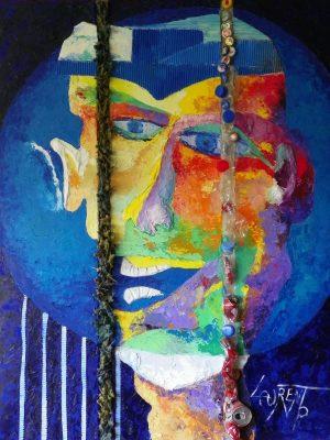 Laurent-Pascal-artiste-peintre-2010 Autoportrait du Monde comme il va