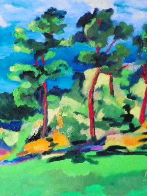 Laurent-Pascal-artiste-peintre-2012 Pins de Montreuil II