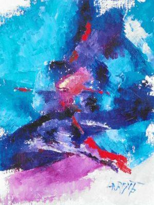 Laurent-Pascal-artiste-peintre-2013 Improvisation 2