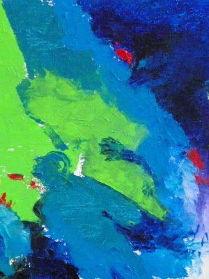 Laurent-Pascal-artiste-peintre-2013 Improvisation le peintre écrasé par son oeuvre