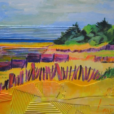 Laurent-Pascal-artiste-peintre-2015 Ile de Ré Plage de la Grange
