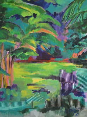 Laurent-Pascal-artiste-peintre-2015 Parc tropical St Sever