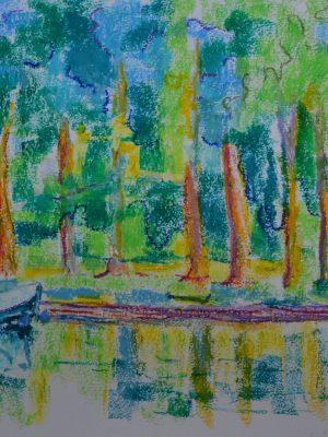 Laurent-Pascal-artiste-peintre-2017-Charente Le fleuve