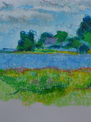 Laurent-Pascal-artiste-peintre-2017-Golf du Morbihan Tascon